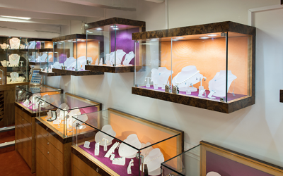 Luxurious and vibrant refurbishment at Heidi Kjeldsen Ltd Fine Jewellers