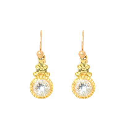 Heidi Kjeldsen Alluring Aquamarine & Gold Earrings ER1396