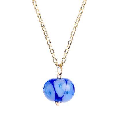 Heidi Kjeldsen Bright Blue Murano Glass Pendant P968