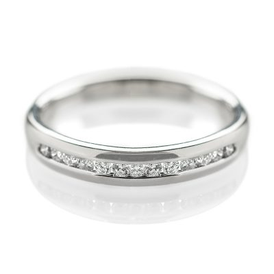 Heidi Kjeldsen Chic Diamond & Platinum Eternity Or Wedding Ring R1029
