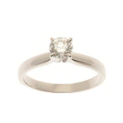 Heidi Kjeldsen Classical Diamond Solitaire & 18ct Gold Ring R945