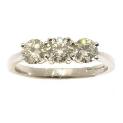 Heidi Kjeldsen Diamond Trilogy Ring R912
