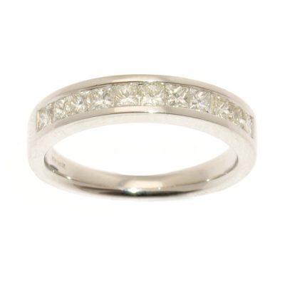 Heidi Kjeldsen Diamond Princess Cut Ring R834