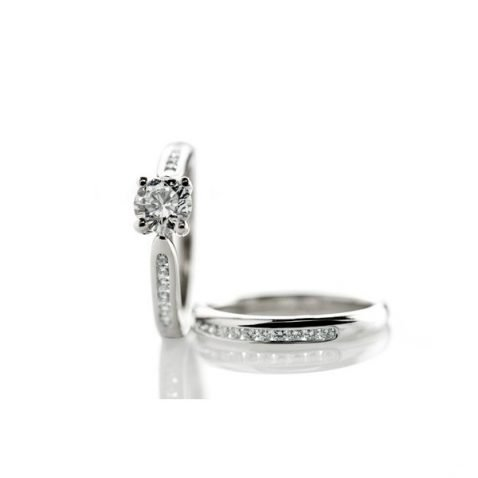 Heidi Kjeldsen Dreamy Diamond & Platinum Engagement Ring R1003 3