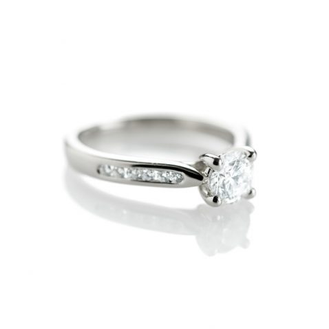 Heidi Kjeldsen Dreamy Diamond & Platinum Engagement Ring R1003