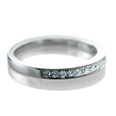 Heidi Kjeldsen Exclusive Diamond Set Eternity Ring in 18ct White Gold R981