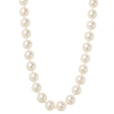 Heidi Kjeldsen Exquisite Akoya Cultured Pearl Necklace With 18ct NL997