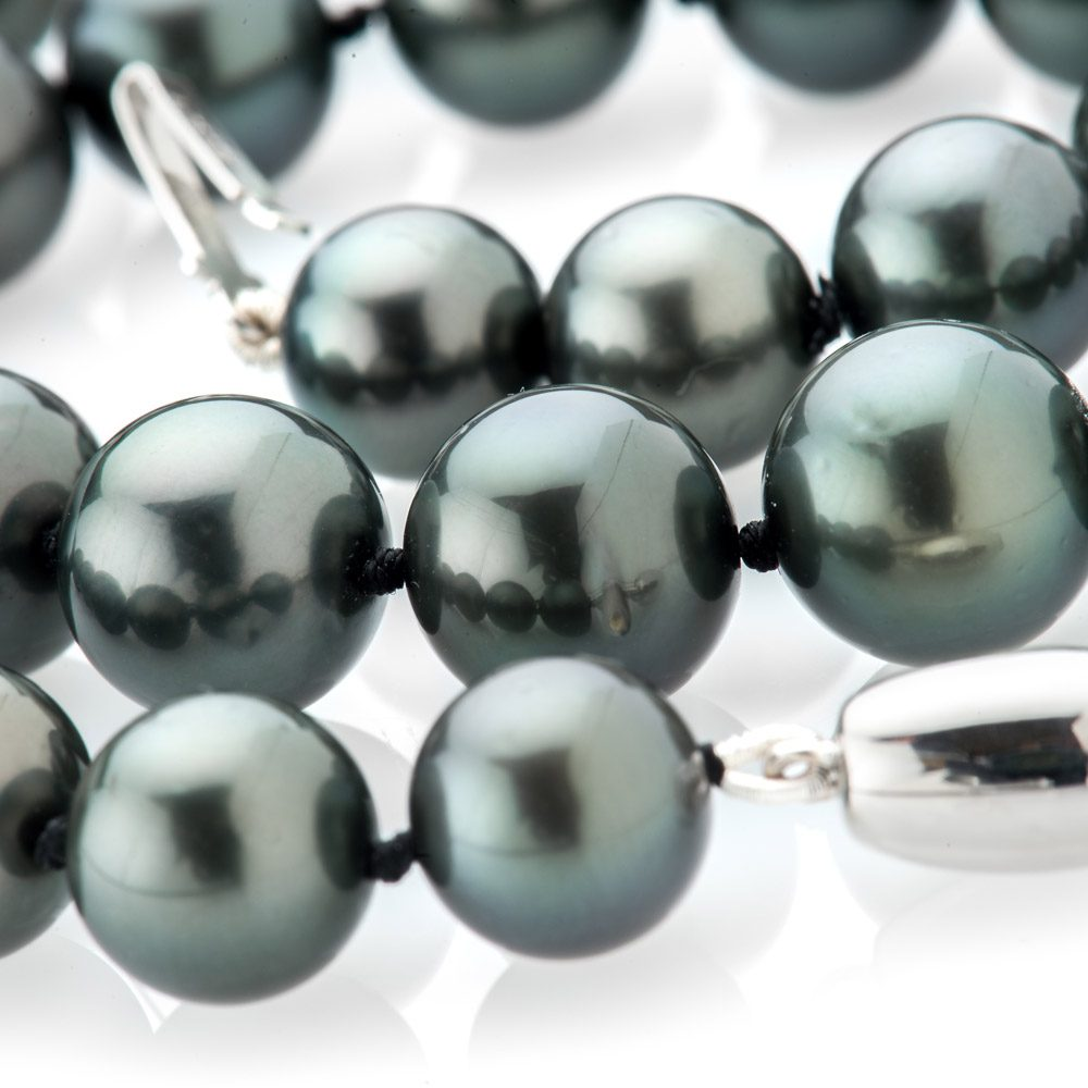 Heidi Kjeldsen Exquisite Tahitian Pearl Necklace NL1145-2