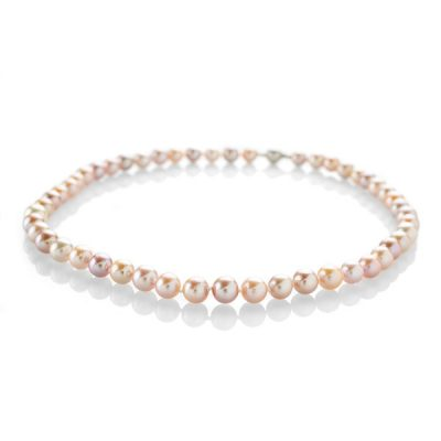 Heidi Kjeldsen Glorious Pink Cultured Pearl Necklace NL988