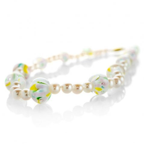 Heidi Kjeldsen Heidi's Murano Glass & Cultured Pearl Necklace NL1056