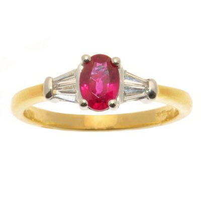Heidi Kjeldsen Ruby & Diamond Ring R917