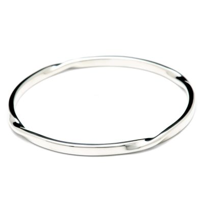 Heidi Kjeldsen Sterling Silver 4 Twist Bangle BL957