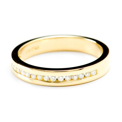 Heidi Kjeldsen Sumptuous Diamond & 18ct Yellow Gold Eternity Ring R1023