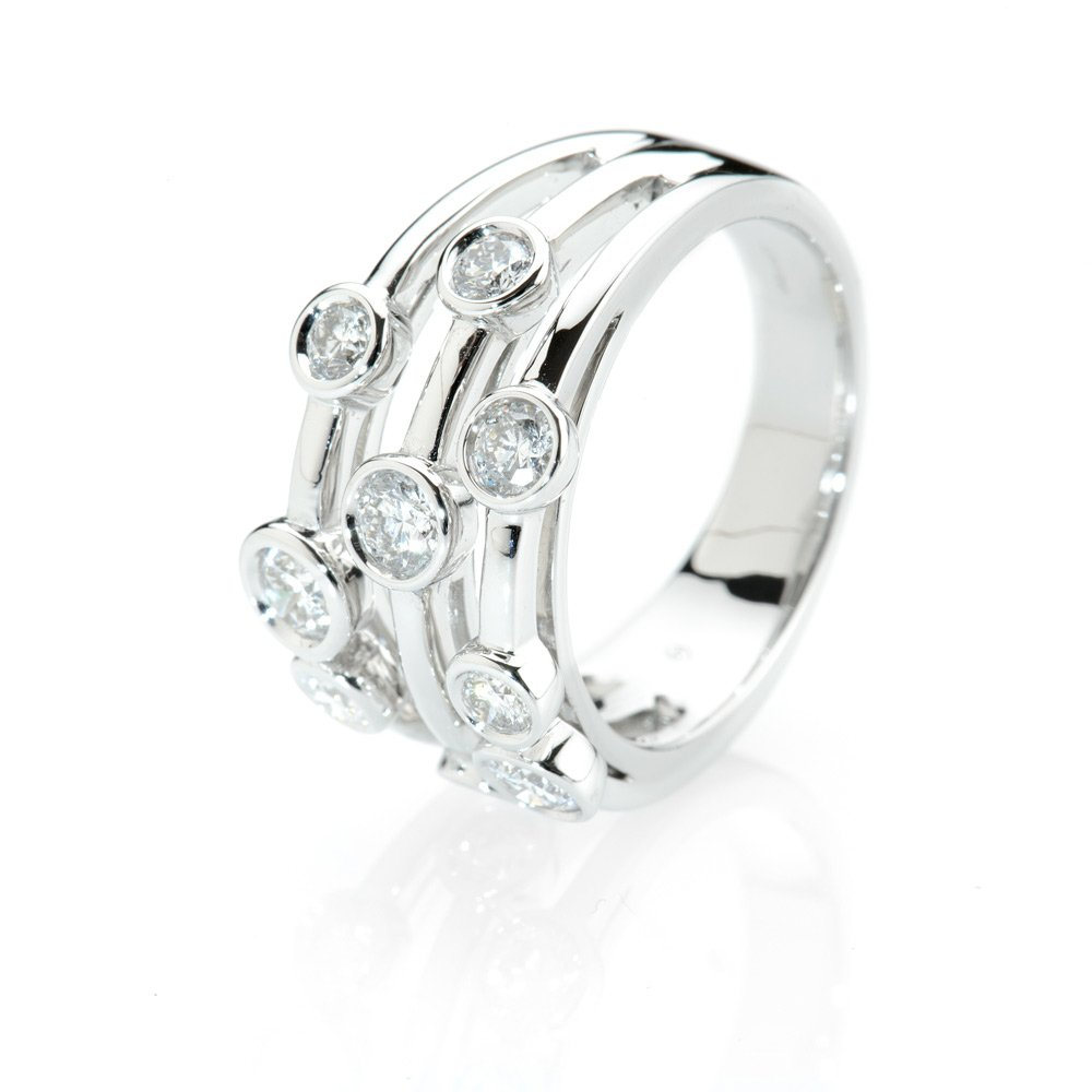 Heidi Kjeldsen Exquisite Diamond Bubble Ring alt R1041