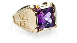 Heidi Kjeldsen Jewellery - Bishop of Dunwich New Amethyst Ring