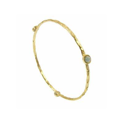 Azuni Aqua Gemstone Bracelet Heidi Kjeldsen ATHBGAQUA
