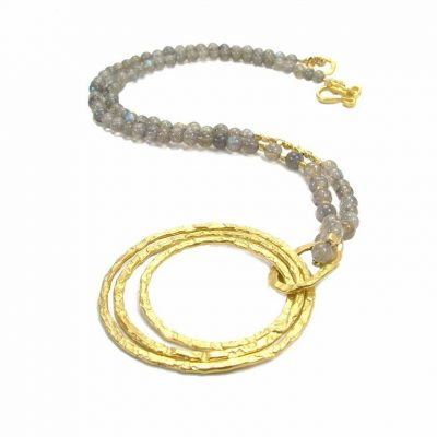 Azuni Exotic Labradorite Necklace ATHN2LAB
