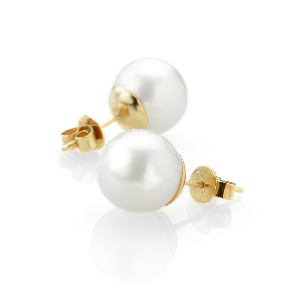 Heidi Kjeldsen Beautiful South Sea Pearl Earrings ER1036