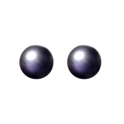 Heidi Kjeldsen Black Cultured Pearl & Gold Earrings ER1484