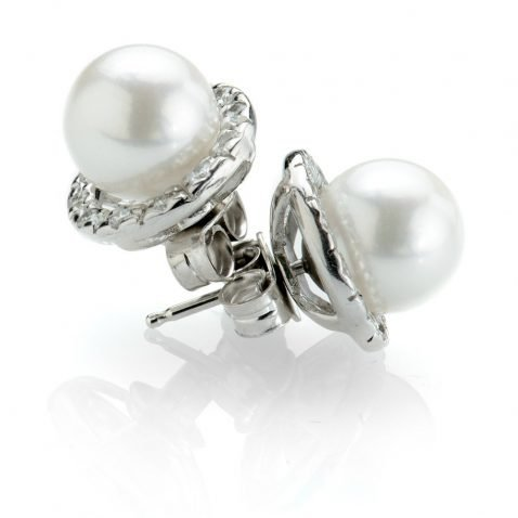 Heidi Kjeldsen Cultured Pearl & Diamond Earrings ER1798-2