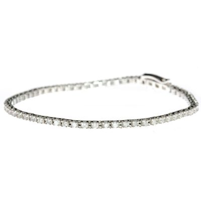 Heidi Kjeldsen Diamond & 18ct White Gold Bracelet BL0084A