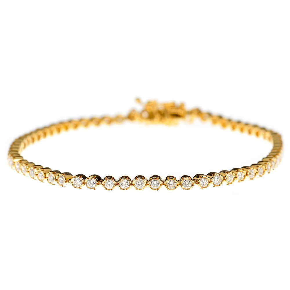 Heidi Kjeldsen Diamond & 18ct Yellow Gold Bracelet BA020X
