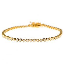 Heidi Kjeldsen Diamond & 18ct Yellow Gold Bracelet BA020X