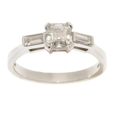 Heidi Kjeldsen Diamond Radiant Cut & Baguette Ring R866