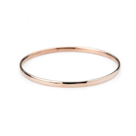 Heidi Kjeldsen Elegant 9ct Rose Gold Bangle BL997