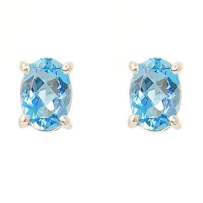 Heidi Kjeldsen Exquisite Aquamarine & Gold Earrings ER1241