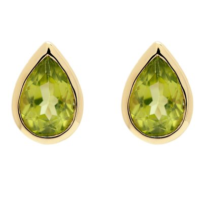 Heidi Kjeldsen Lush Peridot Earrings in 9ct Yellow Gold ER1739