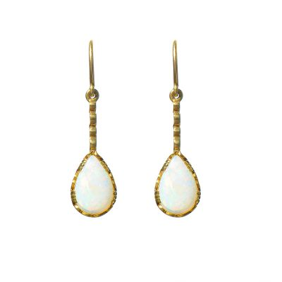 Heidi Kjeldsen Opal & Gold Earrings ER0977