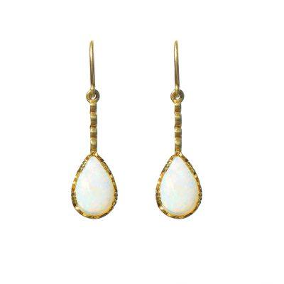 Heidi Kjeldsen Opal & Gold Earrings ER0977
