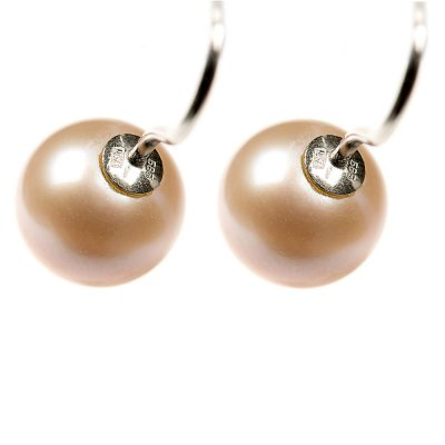 Heidi Kjeldsen Pink Cultured Pearls & Gold Earrings ER0XXX