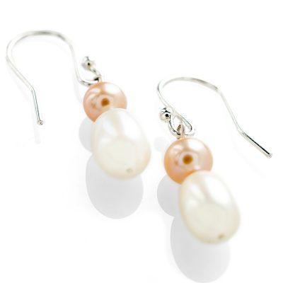 Heidi Kjeldsen Pink & White Cultured Pearl Drop Earrings ER17799