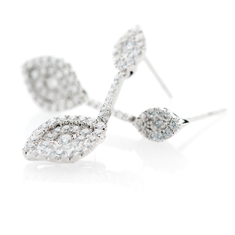 Heidi Kjeldsen Scintillating Diamond Drop Earrings ER1905-2