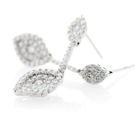 Heidi Kjeldsen Scintillating Diamond Drop Earrings ER1905-2