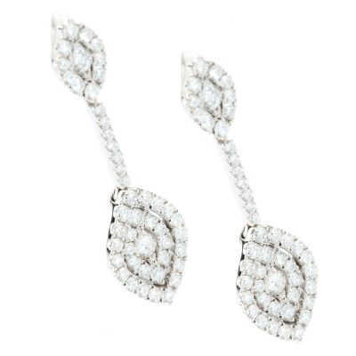 Heidi Kjeldsen Scintillating Diamond Drop Earrings ER1905