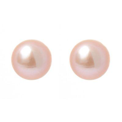 Heidi Kjeldsen Shimmering Mauve Lilac Cultured Pearl & Gold Earrings ER1336A