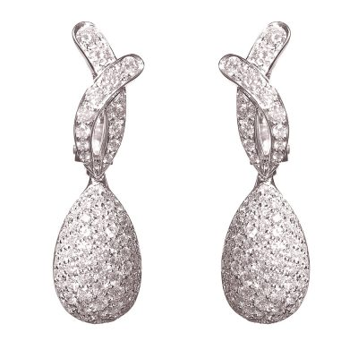 Heidi Kjeldsen Superb Picchiotti Diamond & Gold Earrings ER1229