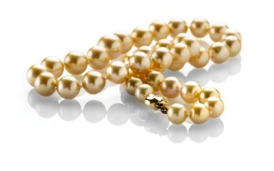 Heidi Kjeldsen Top of the Range Golden South Sea Pearls Necklace ALT1 NL835