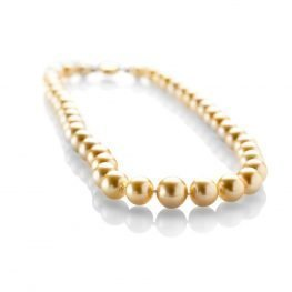 Heidi Kjeldsen Top of the Range Golden South Sea Pearls Necklace ALT2 NL835