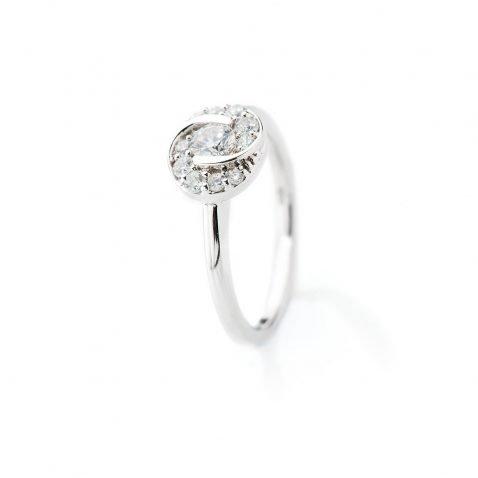 Heidi Kjeldsen Glorious Diamond Swirl Ring ALT1 R1102
