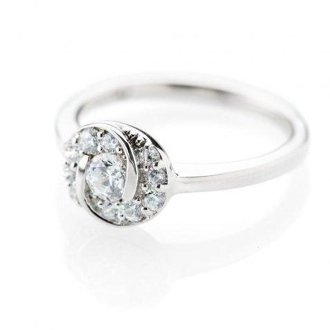 Heidi Kjeldsen Glorious Diamond Swirl Ring R1102