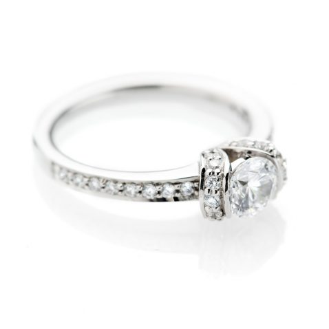 Heidi Kjeldsen Delightful Diamond Solitaire With Added Detail ALT1 R1108