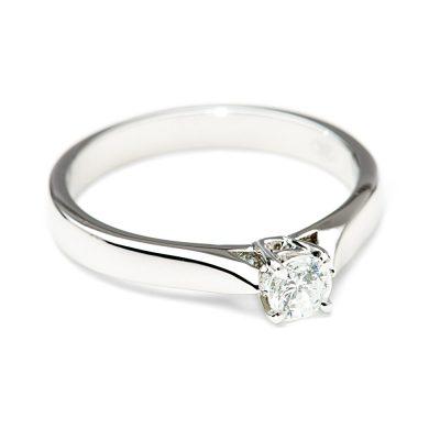 Heidi Kjeldsen Elegant Diamond Solitaire Ring R1045