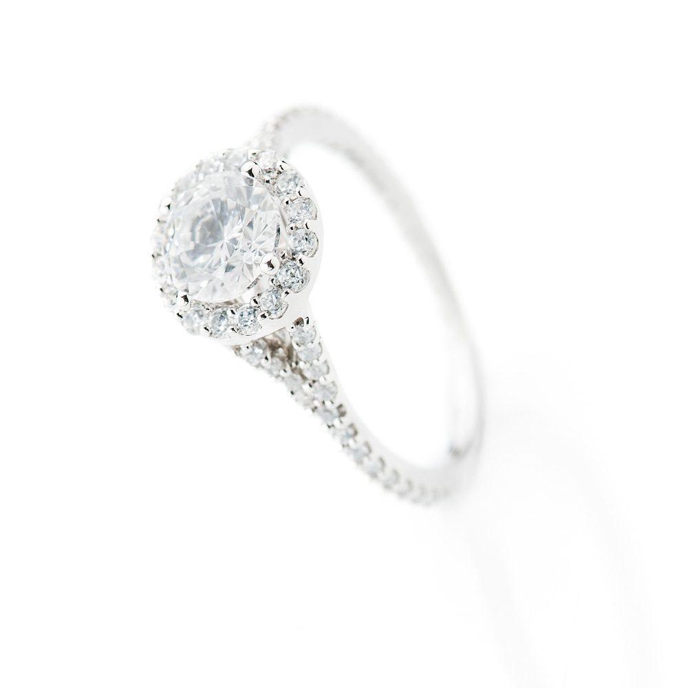 Heidi Kjeldsen Glorious Diamond Cluster Ring ALT1 R1106