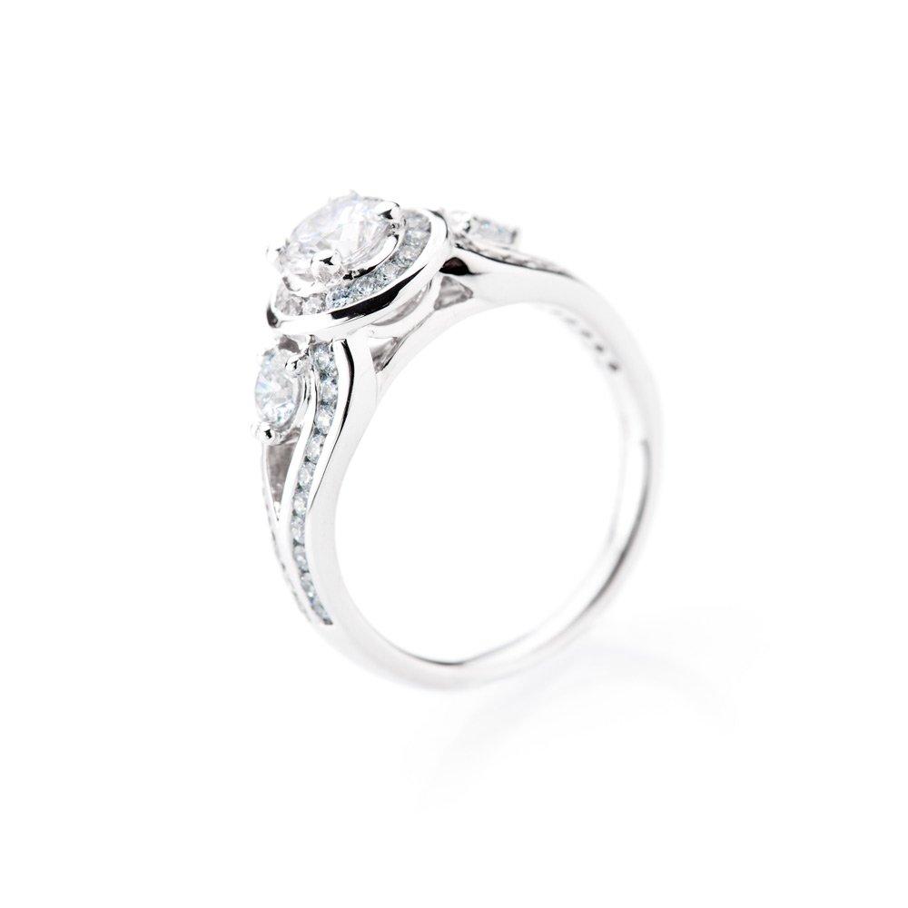 Heidi Kjeldsen Luxury Diamond 18ct White Gold Ring ALT1 R1110