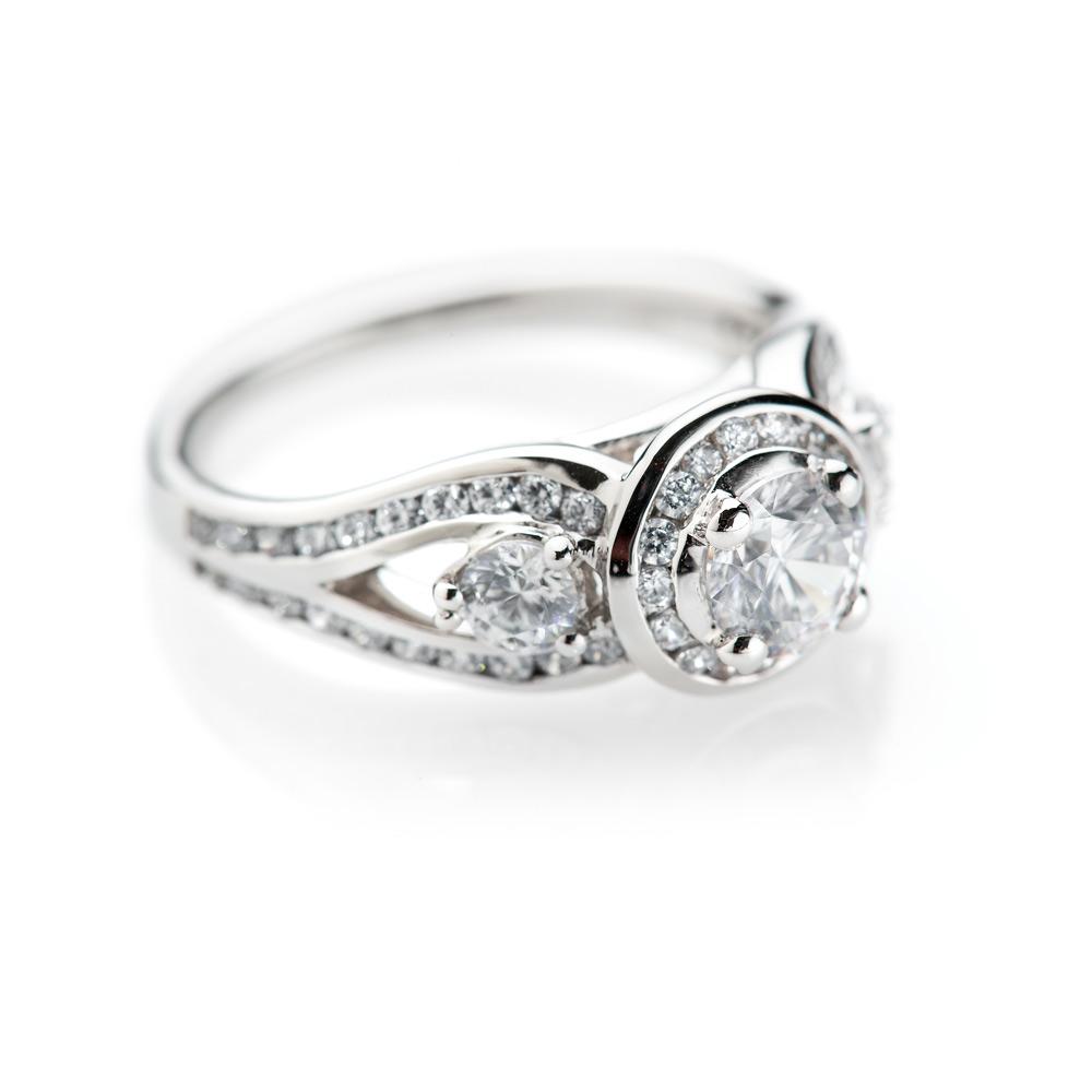Heidi Kjeldsen Luxury Diamond 18ct White Gold Ring R1110