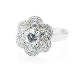 Heidi Kjeldsen Ravishing Diamond Cluster Ring R1098